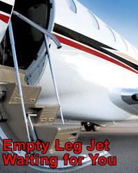A Empty Leg Jet For You