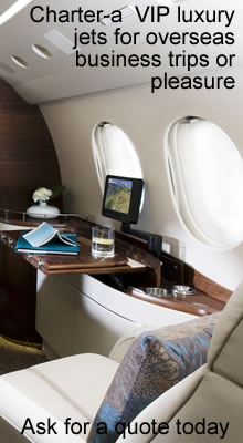 Business Jets with Charter-a from Switzerland